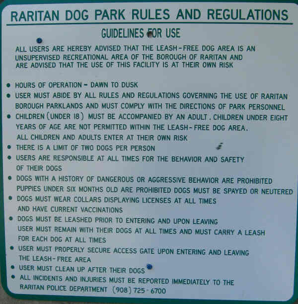 the dog park if you have any questions about the dog park call