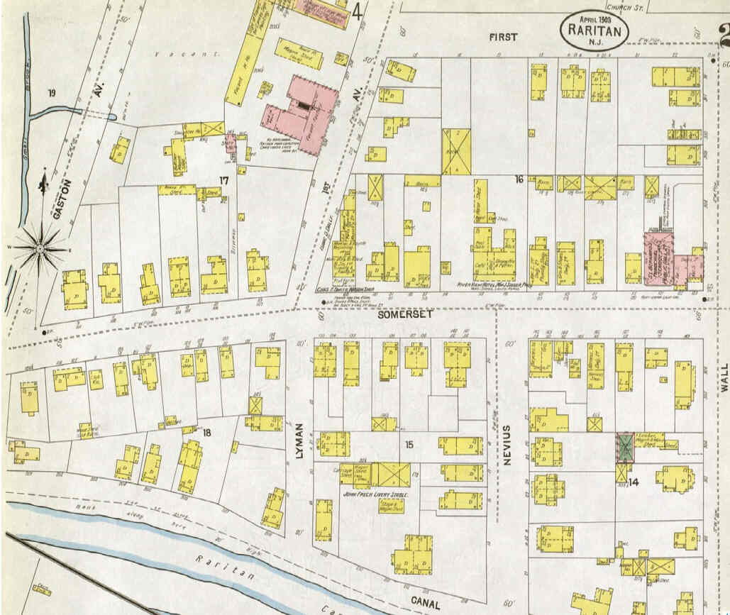 Old Maps Of Raritan Tell The Story - Buy old maps online