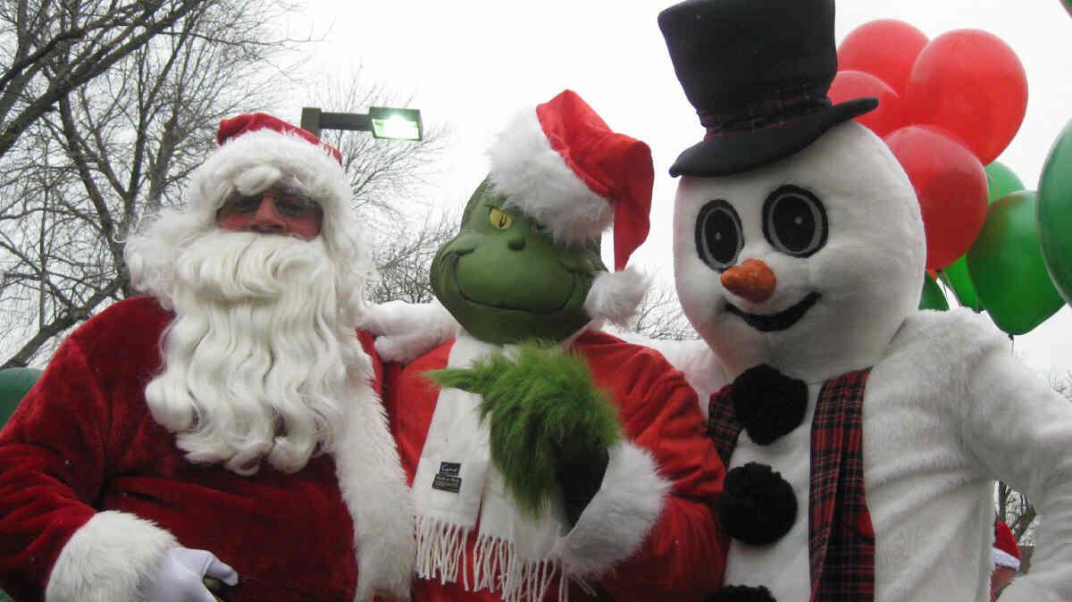 2013 santa comes to raritan